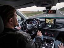 Autonom fahrender Audi A7