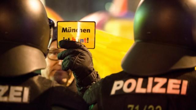 Mügida-Demo am Sendlinger Tor