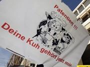 Demonstration gegen Patent auf Leben