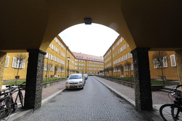 Borstei in München, 2010