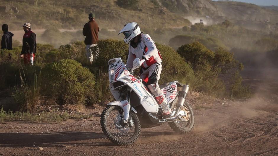 Michal Hernik dies during Rally Dakar 2015