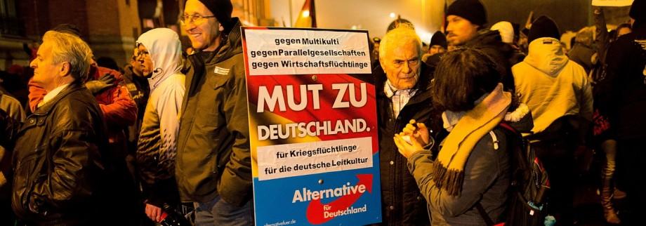 Pegida Protesters March In Berlin