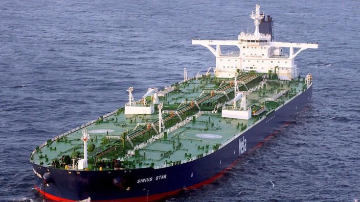Piraten geben saudischen Öltanker 'Sirius Star' frei
