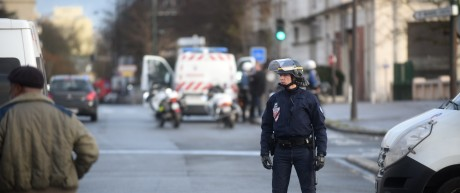 Emergency Services Attend Further Hostage Situation In Kosher Deli