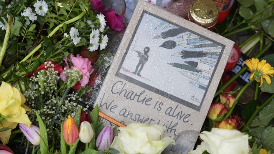 Gedenken nach Anschlag in Paris