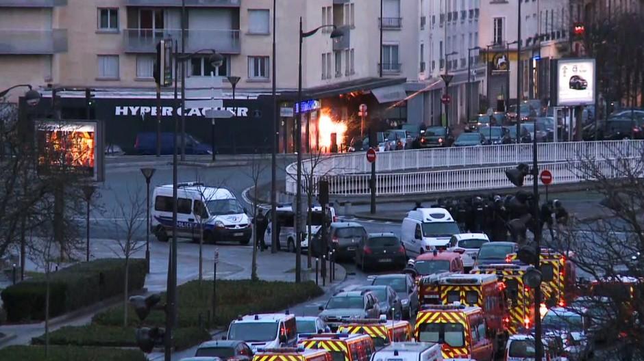 Anschlag auf Charlie Hebdo TV-Nachrichtensender BFMTV