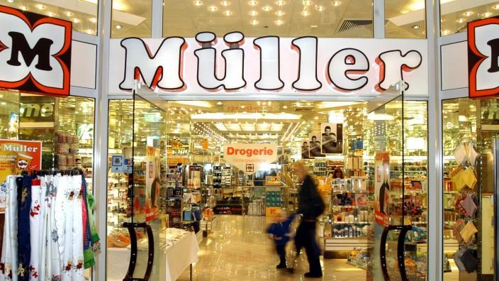 Filiale des Drogeriemarktes Müller