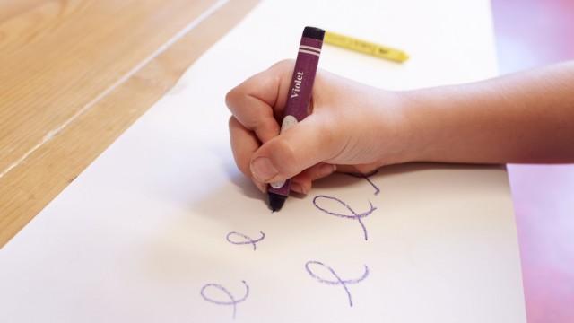 Schule Handschrift in der Grundschule