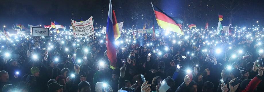 Pegida Demonstrations Continue