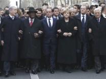 Netanjahu und Abbas in Paris