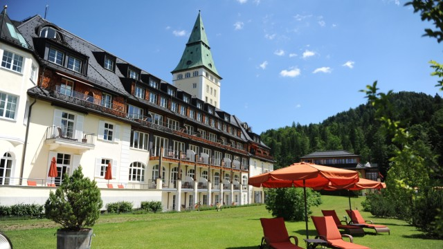 Hotel Schloß Elmau, 2014