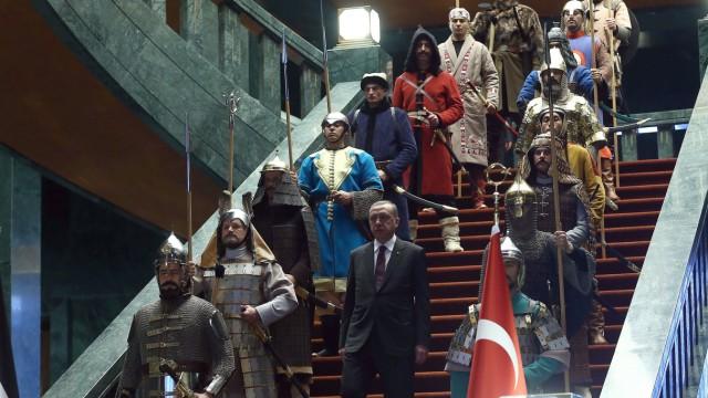 Recep Tyyip Erdogan Türkei