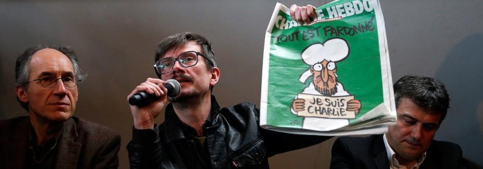 Charlie Hebdo Press Conference
