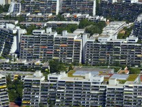 Balkone im Olympiapark