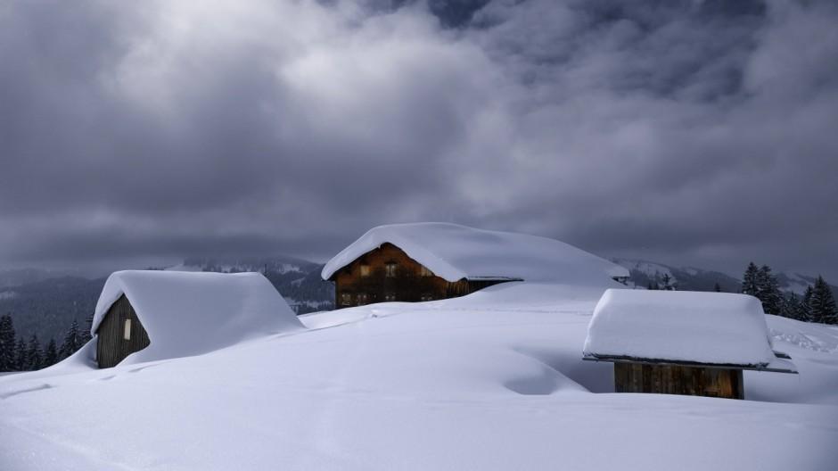 Alpen Balderschwang im Allgäu