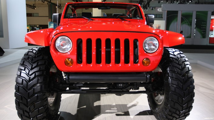 Jeep Lower Forty auf der LA Auto Show 2009