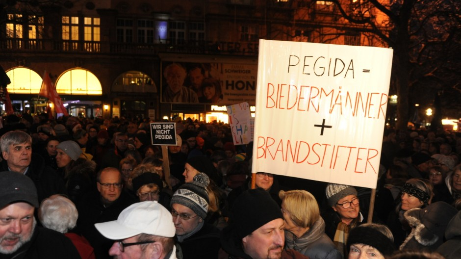 Anti Bagida Demonstration in München, 2015