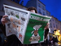First International Edition Of Charlie Hebdo Published Since Paris Terror Attacks