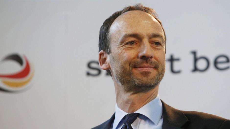 Thomas Krohne Volleyball Präsident