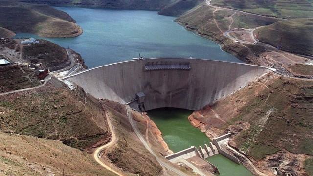 Katse-Staudamm in Lesotho
