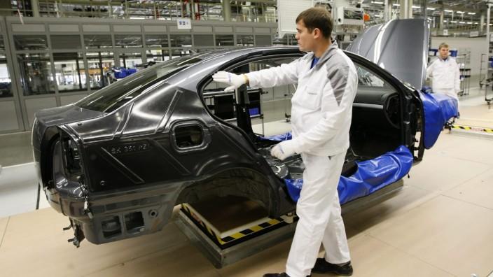Volkswagen startet Vollproduktion in Russland