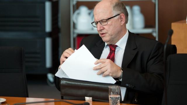 Öffentliche Sitzung des NSA-Untersuchungsausschusses mit Vernehm