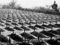 Friedhof von Hadamar, 1945
