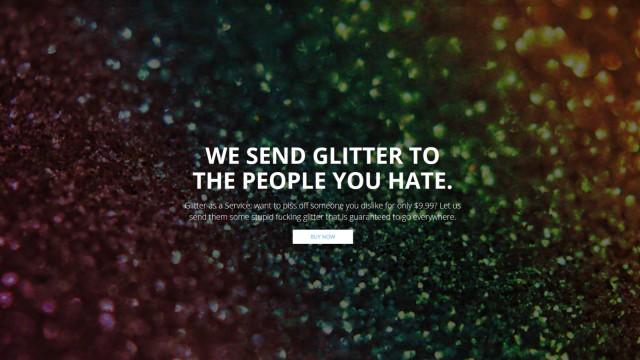 Glitzer Send Your Enemies Glitter