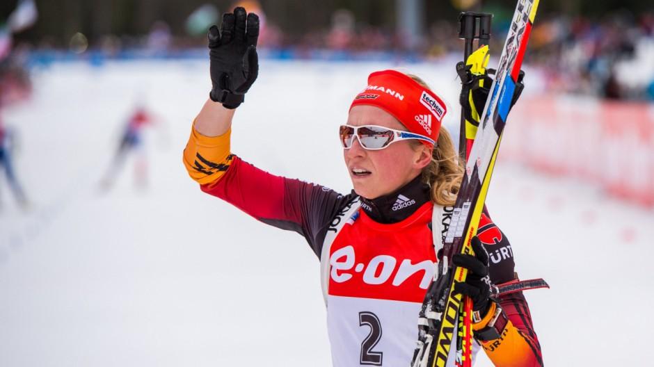 Biathlon-Weltcup in Ruhpolding - Sprint Frauen