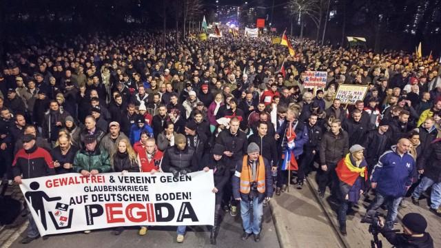 Pegida Demonstrationsverbot in Dresden