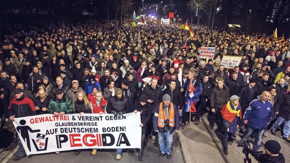 Pegida Demonstrationsverbot in Dresden