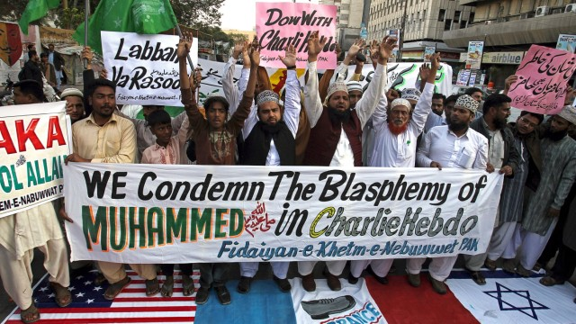 Anschlag auf Charlie Hebdo Bestrafung von Gotteslästerung