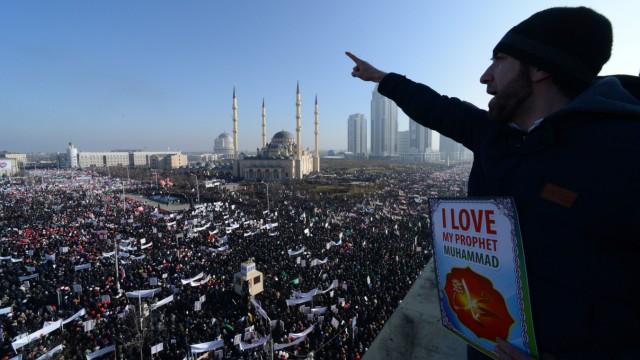 Proteste in Grosny