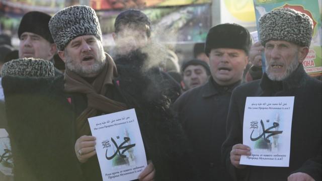 Tschetschenien Proteste in Grosny