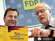 Brüderle Westerwelle FDP FDP-Steuerkonzept dpa