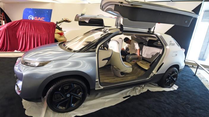 GAC mit seinem Konzept auf der Auto Show Detroit