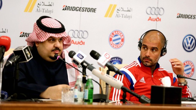 Bayern Munich press conference