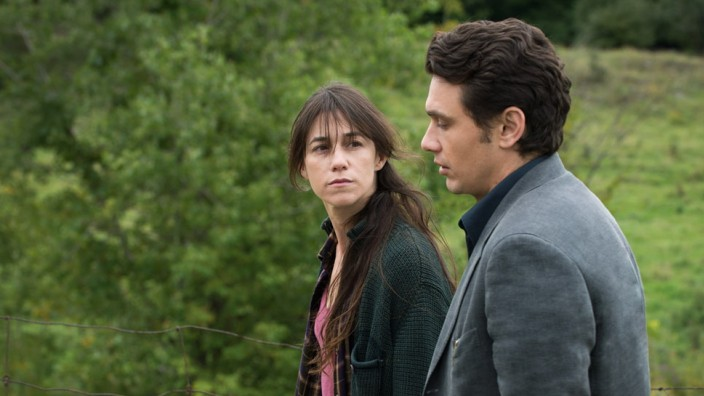 "Charlotte Gainsbourg und James Franco in einer Szene von ""Everything will be fine""."