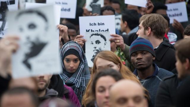 Asylbewerber-Demonstration