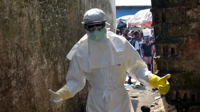 Ebola Test von Ebola-Impfstoffen