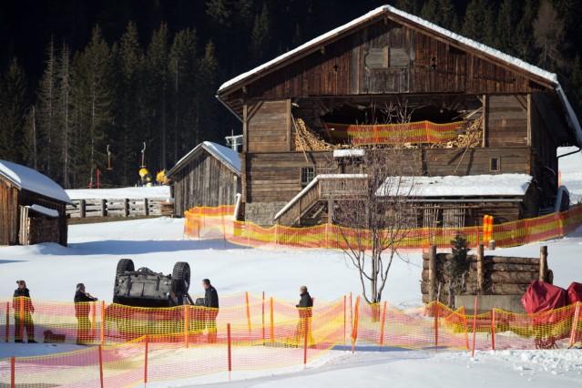 Bond 24 film shooting in Austria