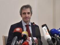 Pegida Leadership Holds First Press Conference