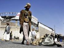 Präsidentenpalast in Jemen