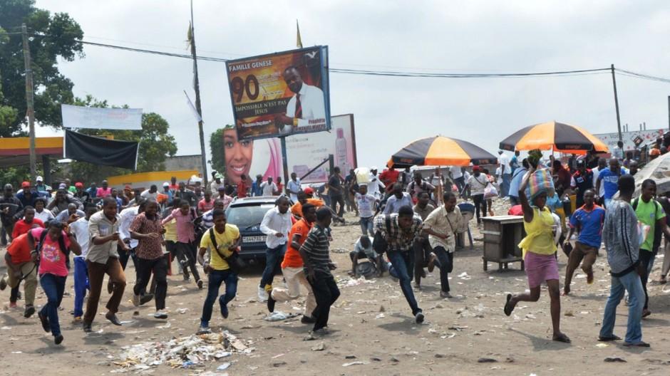 Unruhen in Kongo