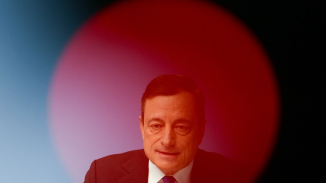 EZB-Pressekonferenz in Frankfurt