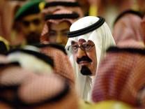 Saudi Arabian King Abdullah dies