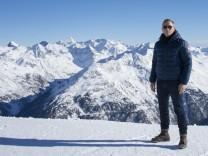 """Daniel Craig am Set von """"Spectre"""" in Tirol, Österreich"""
