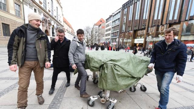 Straßenmusik Straßenmusik in München
