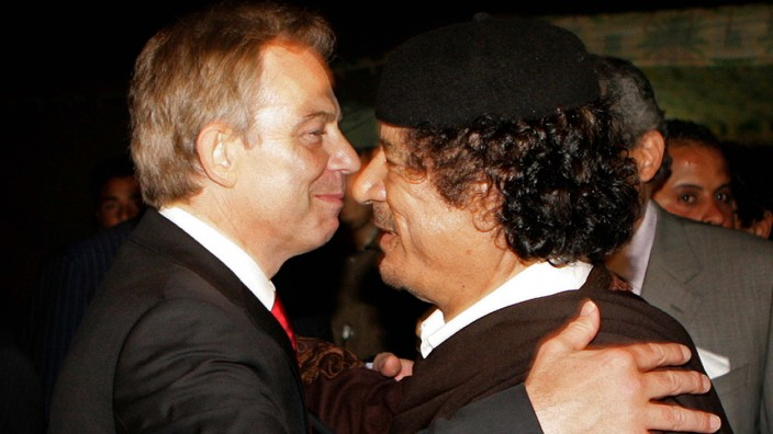 Tony Blair Embarks On Tour Of Africa