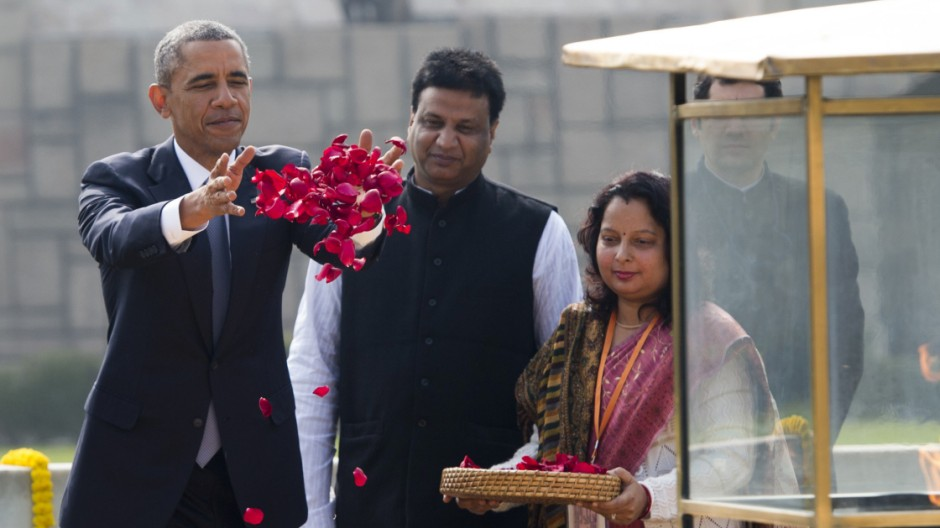 Politik Obama in Indien